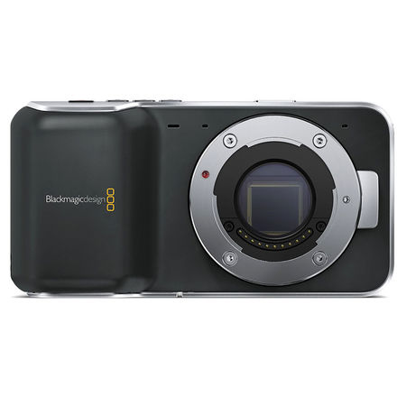 Blackmagic Pocket Cinema Camera w/ LP-E6 Battery Attachment