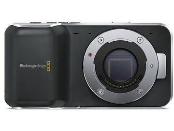 Rent: Blackmagic Pocket Cinema Camera w/ LP-E6 Battery Attachment