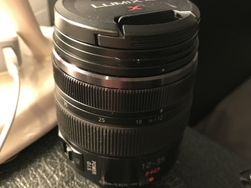 Rent: Panasonic Lumix G X Vario Zoom 12‑35mm F/2.8