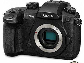 Panasonic Lumix DC-GH5 Digital Camera w/ V-LOG