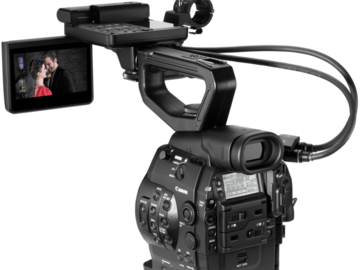 Rent: (2) Canon C300 packages with accessories.