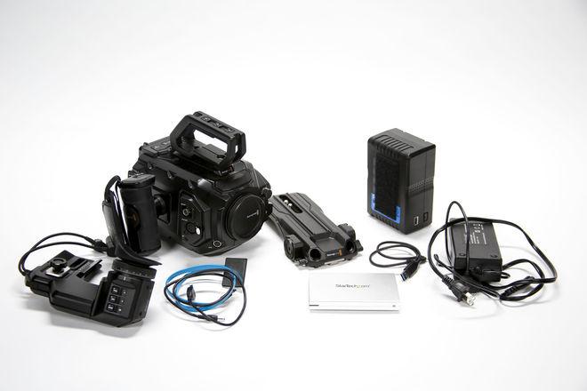 Blackmagic URSA Mini Pro 4.6K + Sigma Art Lens Package