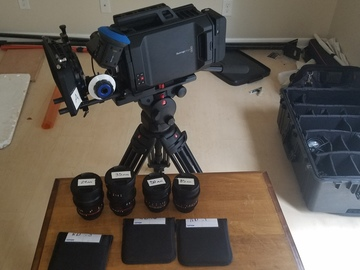 Rent: Blackmagic URSA 4K EF Mount KIT Complete