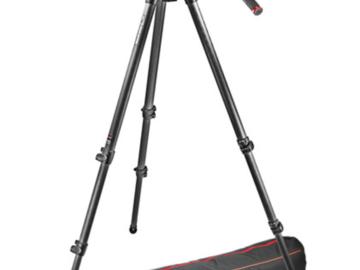 Manfrotto 502 Head with 535 Carbon Fiber Tripod Legs