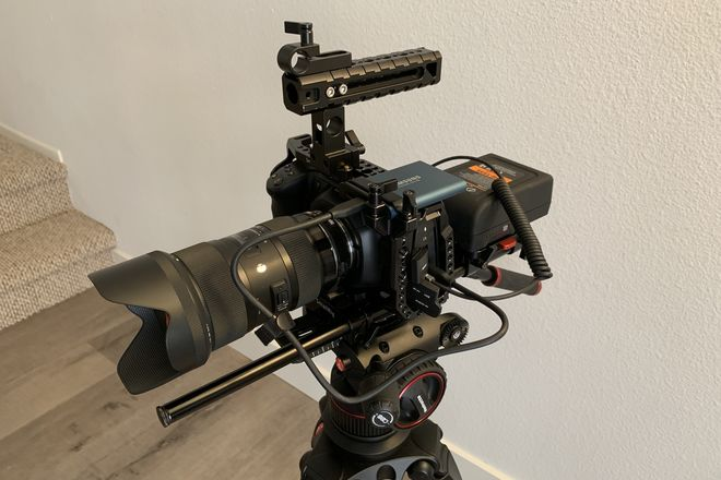 BMPCC 6K with Sigma Art Zoom Set & 1TB SSD & V-Mount Batts