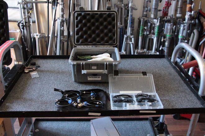 (4) Sennheiser EW100 G3 Wireless Lav Kit