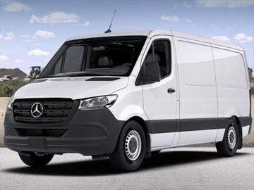 Rent: Mercedes 2500 Cargo Sprinter Van