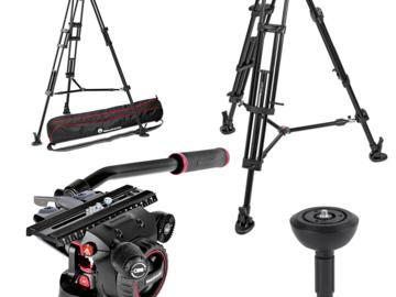 Rent: ManfrottoNitrotech N12 & 545B Dual-Leg Tripod Kit