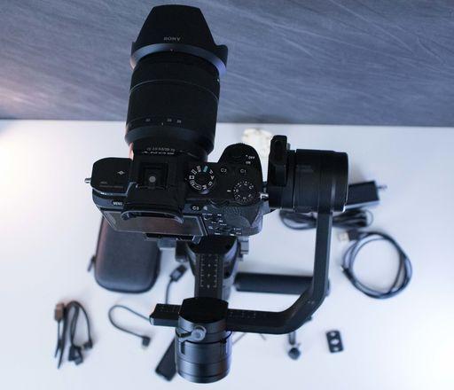 A7S II Run & Gun Shooter Package • w/ Ronin-S + Lens + Sound