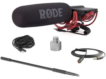Rode VIDEOMICR CPK Videomic with Rycote Lyre Mount, Boom Pol