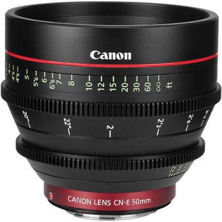 Canon CN-E 50mm T1.3 L F
