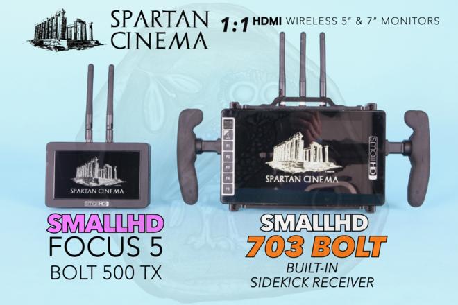 SmallHD 703 Bolt + FOCUS Bolt 500 TX Wireless Monitor Set #1
