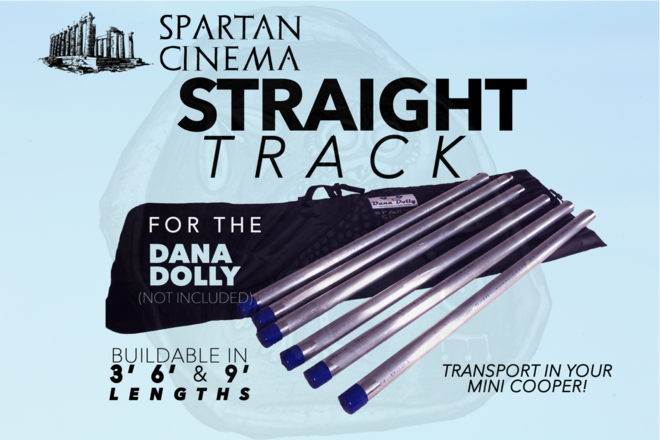 Dana Dolly Portable Straight Track Kit (3'/ 6'/ 9') #1