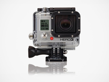 Rent: GoPro Hero 3 Black Edition with Polarizer + Mounts