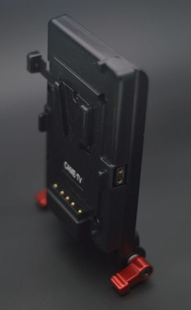 Came-TV V-Lock Plate with D-Tap