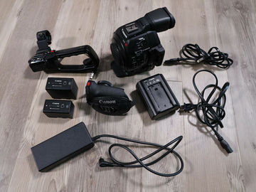 Rent: Mint Canon EOS C100 Mark II — CPS Maintained | Only 190 Hrs!