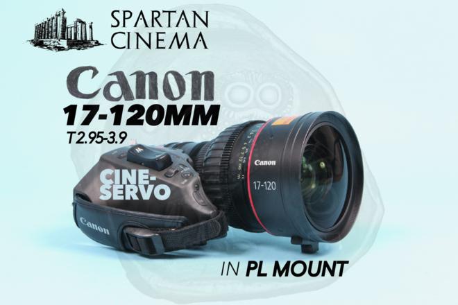 Canon Cine-Servo 17-120mm PL + D-Tap Power Cable