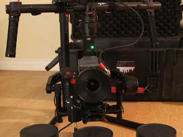Rent: Red Scarlet dragon, ronin,  Tripod