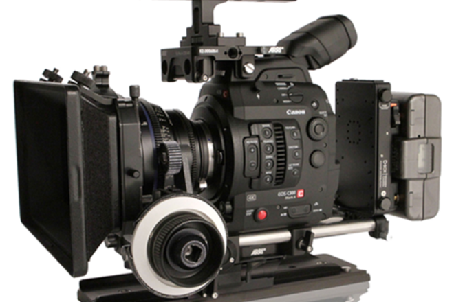 Canon C300 MK II PL CINEMA KIT [AB Plate + Batts + FF]