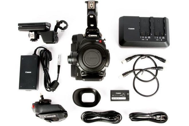 Canon C300 MK II EF / PL Mount BASIC KIT