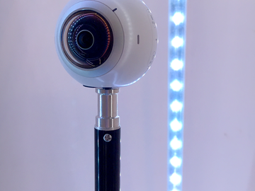 Rent: Samsung Gear 360 and Galaxy S6 - 360 Video Creator Package