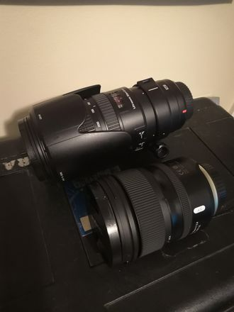 Tamrons 24 -70 and 70 - 200 f2.8