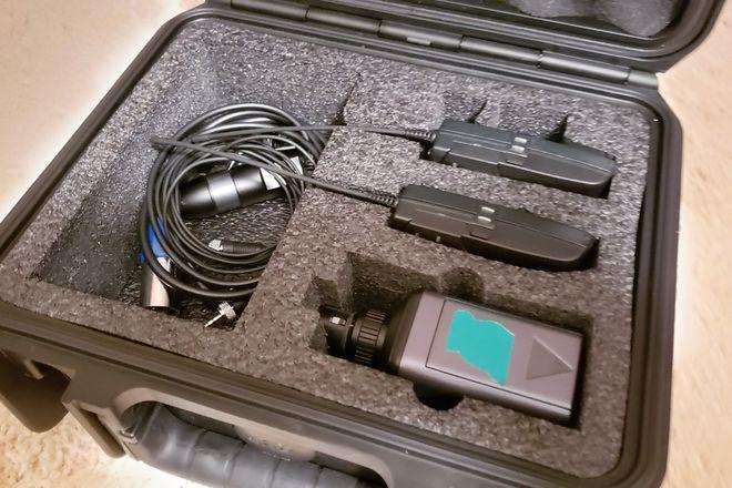 Sennheiser ew 100 ENG G3 Wireless Microphone Set (A1 Band)