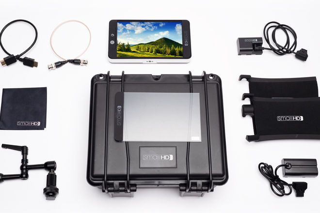 SmallHD 702 Bright Monitor | FULL ACCESORIES KIT