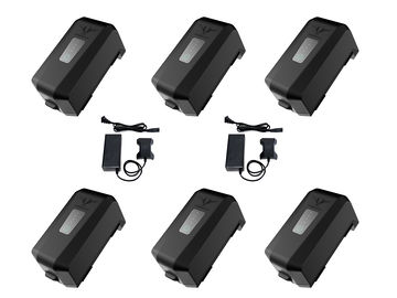 Rent: (6x) FREEFLY MoVI Pro Batteries [Dual Charger]
