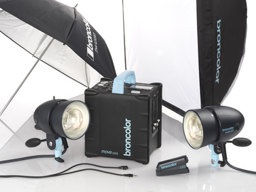 Rent: Broncolor Move Pack with 1 MobiLED Head Kit