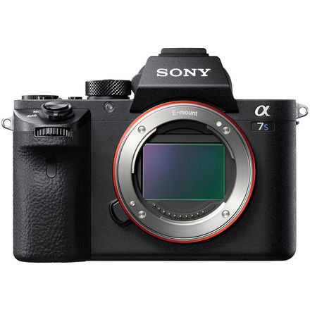 Sony a7S II with SD Card, EF Lens Adapter, and 28-70mm Lens
