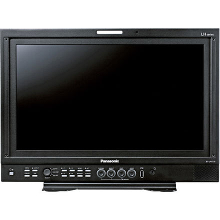 """Panasonic 17"""" Monitor w/ Case, C-Stand and Accessories"""