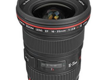 Rent: Canon 16-35 2.8L II USM