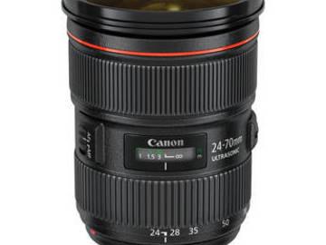 Rent: Canon 24-70 2.8L II USM