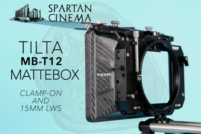 Tilta 4×5.65 Carbon Fiber Matte Box (Clamp-on MB-T12) #1
