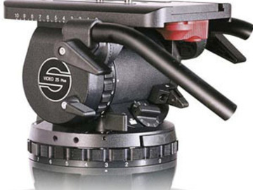 Rent: Sachtler Video 25 Plus FB Fluid Head with Mitchell Base