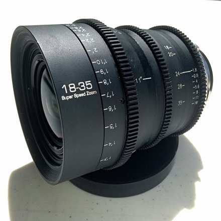 PL Mount 18-35mm T1.8 Zoom
