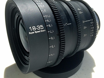 Rent: PL Mount 18-35mm T1.8 Zoom