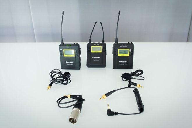 Saramonic UwMic10 Wireless Mic System Package (w/ batteries)