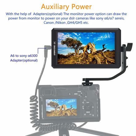 Rent a ANDYCINE 4k 5 7 Inch HDMI Field Monitor / external