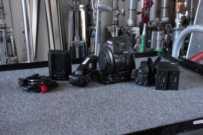 Canon EOS C100 Mrk I Cinema Camera