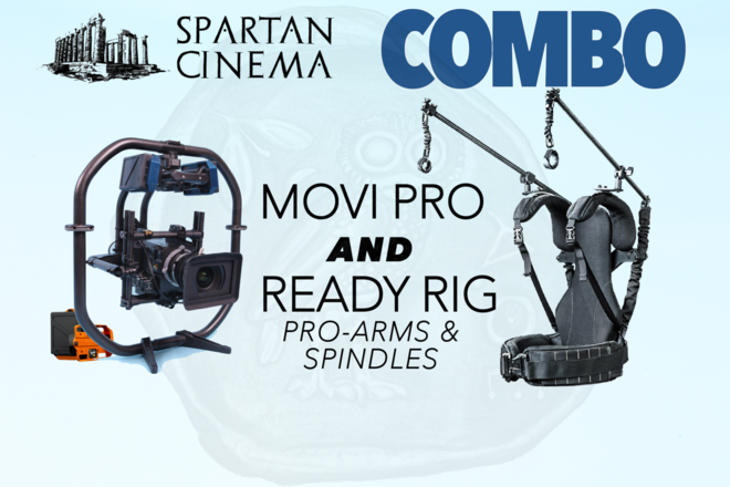 MoVI Pro + Ready Rig Pro Arms + 6x TB50 Batteries #1