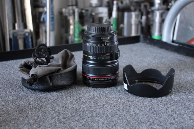 Canon EF Zoom 24-105mm F/4.0 IS USM Mark I Lens