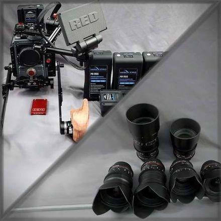RED Scarlet-W Dragon 5K - Run&Gun&Glass