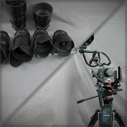 RED Scarlet-W Dragon 5K - Tripod&Lens Kit