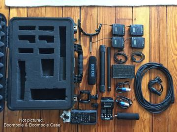 Zoom, Shotgun, and Lav Kit