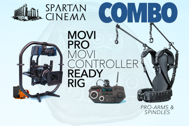MoVI Pro + MoVI Controller + Ready Rig w/ Pro Arms TB50