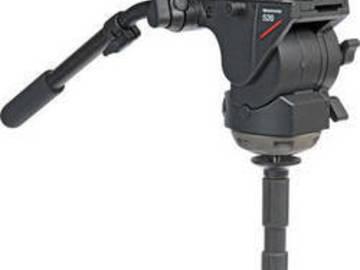 Rent: Manfrotto 536 Carbon Fiber Video Tripod kit