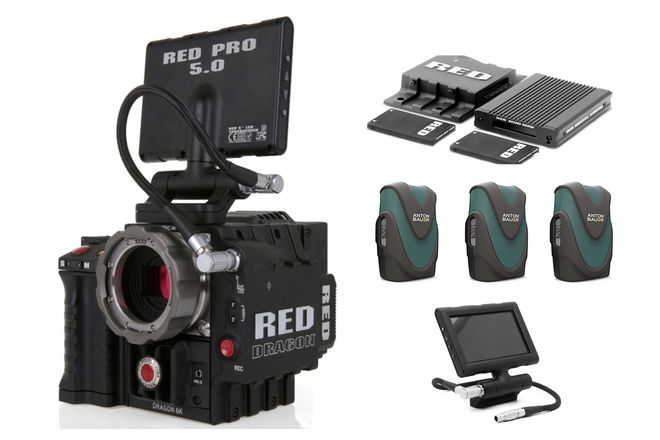 RED Epic Dragon 6K PL/EF Mount | FULL PACKAGE
