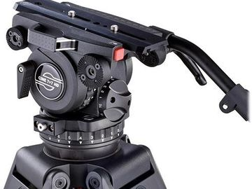 Rent: Sachtler Cine 7+7 HD Fluid Head Tripod [48.5 lbs]